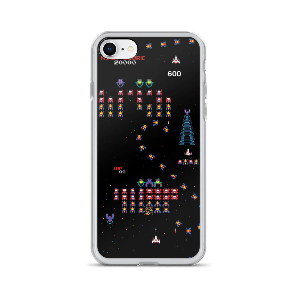 Galaga iPhone Case | Funda de iPhone Galaga-Phone Cases-Eat me!