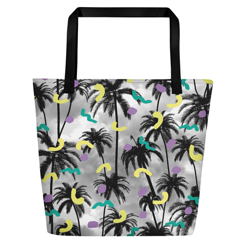 Palms Beach Bag-Tote Bags-Eat me!