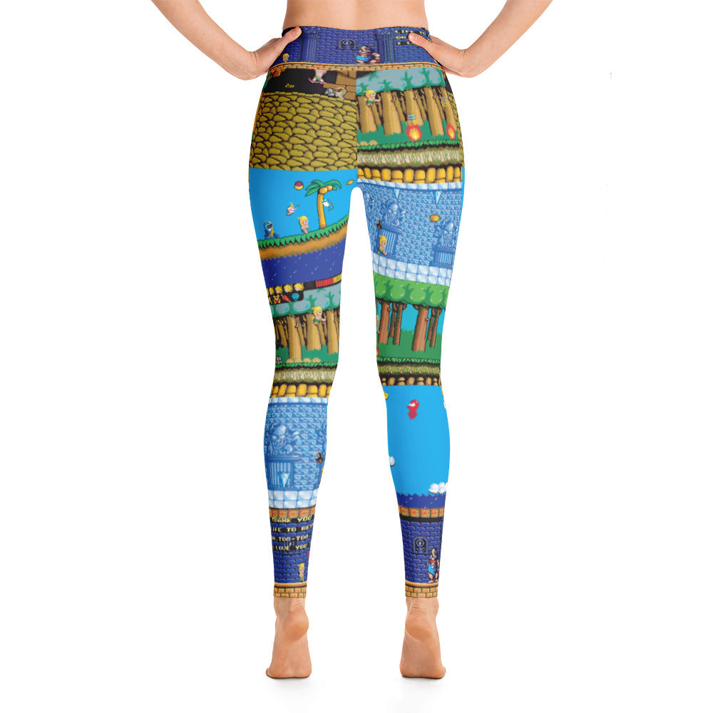 Wonderboy Yoga Leggings | Yoga Leggings Wonderbboy-Yoga Leggings-Eat me!