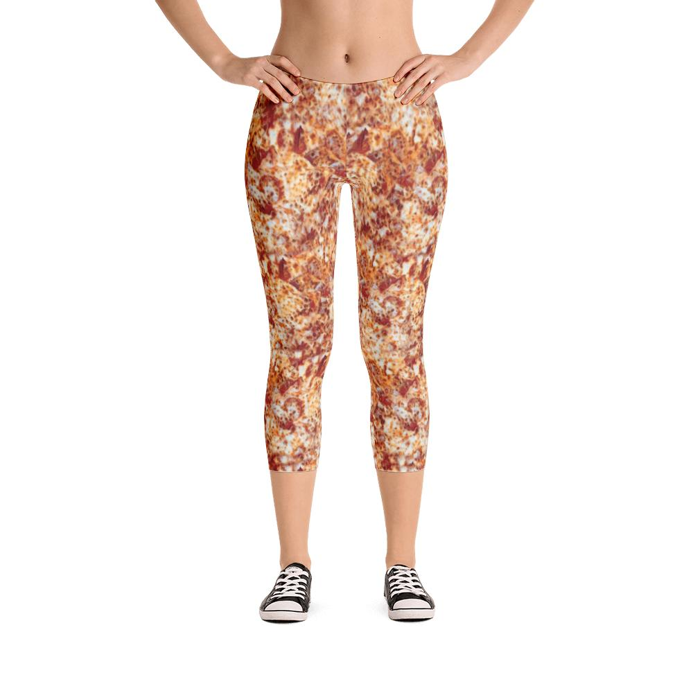 Pizza Leggings | Pizza Leggings-Leggings-Eat me!