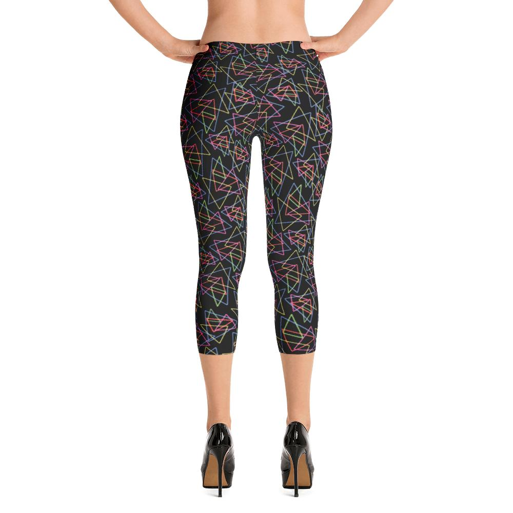 Polygon Neon Leggings | Triángulos Neón Leggings-Leggings-Eat me!