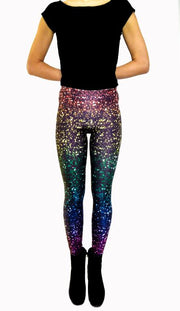 Glitter Texture Leggings-Leggings-Eat me!