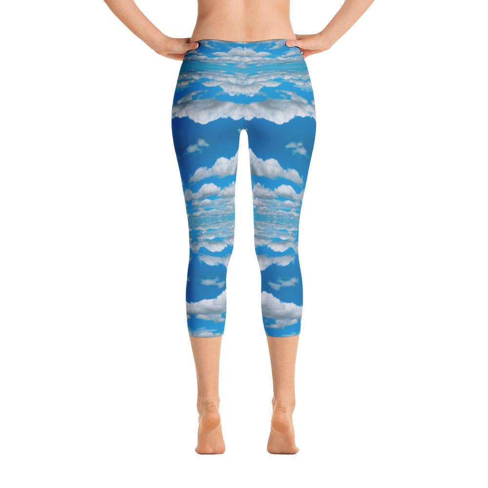 Sky Leggings | Nubes Leggings-Leggings-Eat me!