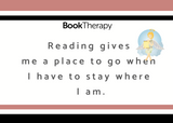 My First Reading Cards: 18 Reasons to Read - Book Therapy