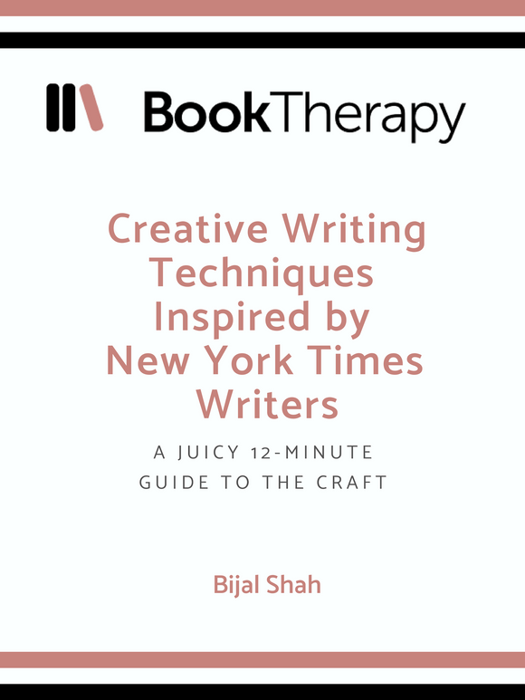 Creative Writing Techniques Inspired by New York Times Writers - Book Therapy