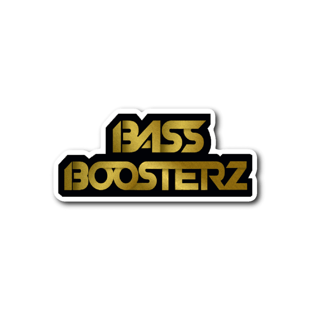BassBoosterz Sticker