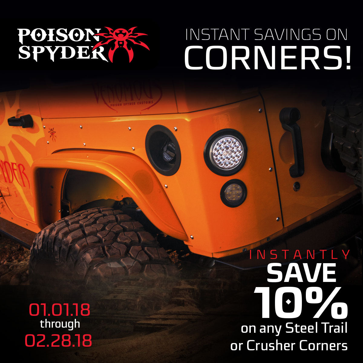 Unlimited Offroad Centers Jeep Accessories And Upgrades Wrangler Off Road Lights Save 10 On Corners
