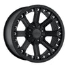 Series 7033 18x9 with 5x5 Bolt Pattern Flat Black Pro Comp Alloy Wheels