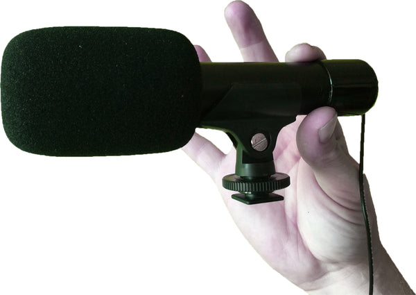 MINI SHOTGUN MICROPHONE - ALL PHONES AND TABLETS