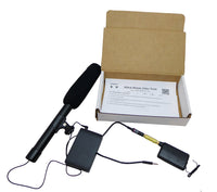 WIRELESS SHOTGUN MICROPHONE FOR IPHONE AND IPAD