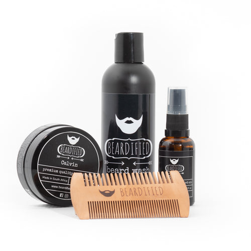 Essential Beard Care Combo - Calvin - Beardified