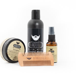 Essential Basic Beard Care Combo - Spurgeon - Beardified