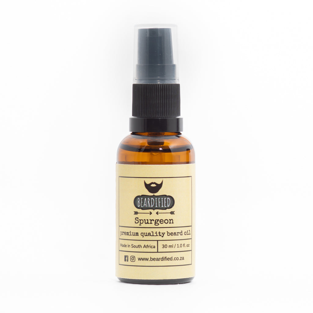 Beard Oil - Spurgeon - Beardified
