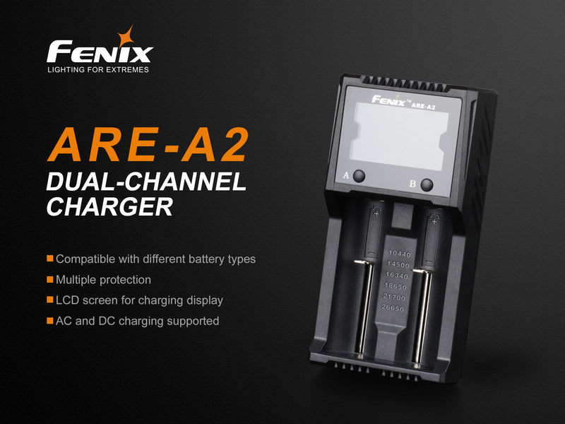 Fenix ARE-A2 Dual Channel Charger