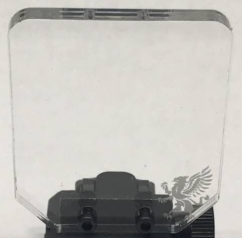 Gryphon Airsoft Square Shield (Lexan ONLY)