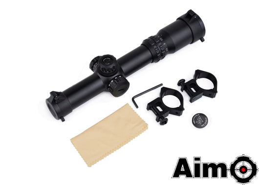 AIM 1-4x24 SE Tactical Red/Green Scope