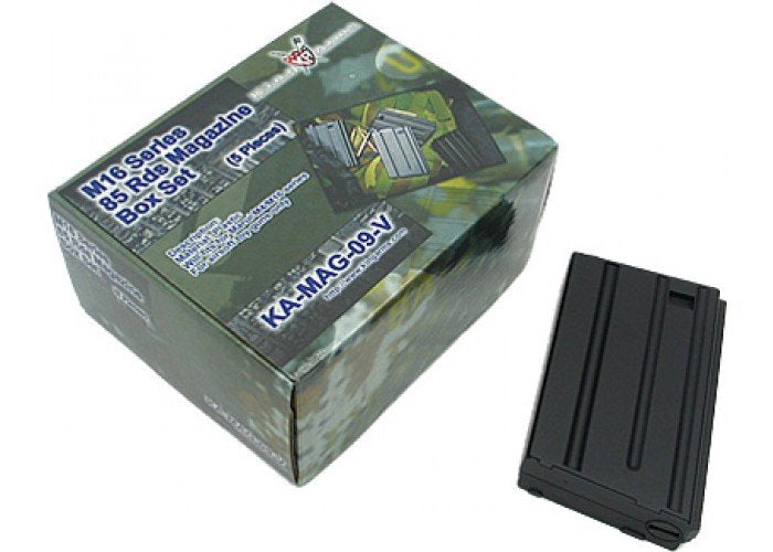King Arms Magazine for M16VN(85RND) Set of 5