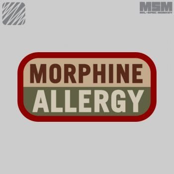 MSM Morphine Allergy