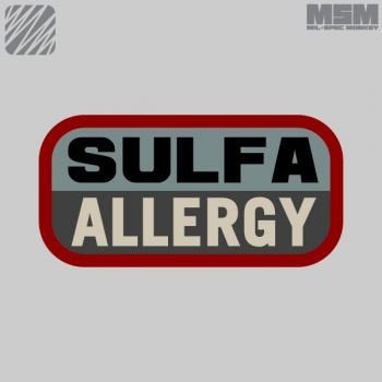 MSM Sulfa Allergy