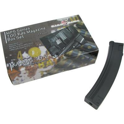 King Arms MP5 100rnd Magazines 5pk