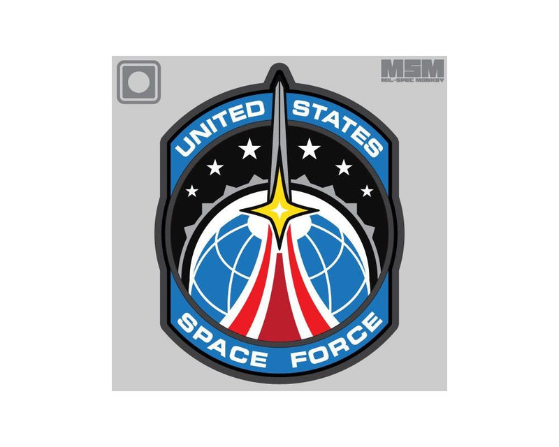 MSM Space Force PVC