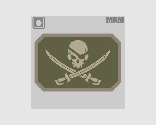 MSM Pirate Skull PVC