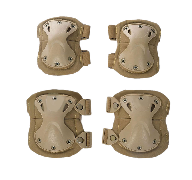Krousis Tactical Knee and Elbow Pad Set