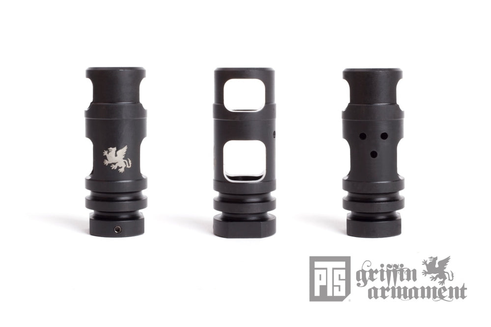 PTS Griffin M4SD Muzzle Brake CCW -14mm