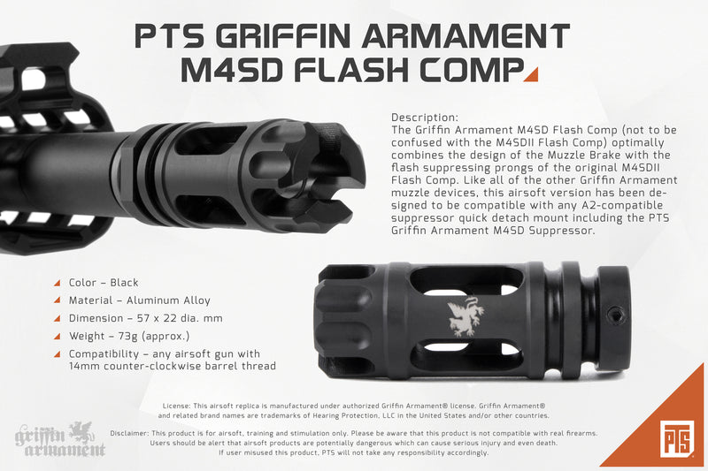 PTS Griffin M4SD Flash Comp