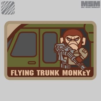 MSM Flying Trunk Monkey