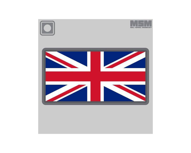 MSM British Flag PVC