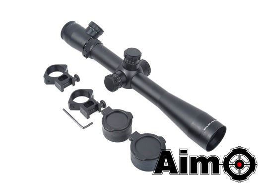 AIM 3.5-10x40mm-SF Red/Green Sniper Scope