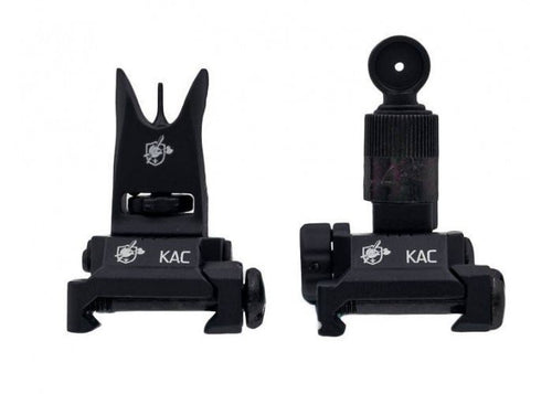 Knight's Armament Airsoft Back Up Iron Sights in Black