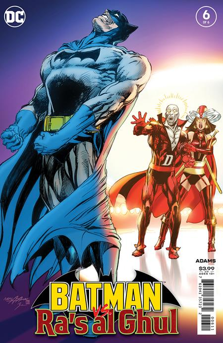 BATMAN VS RAS AL GHUL #6 (OF 6) (4/21/21)
