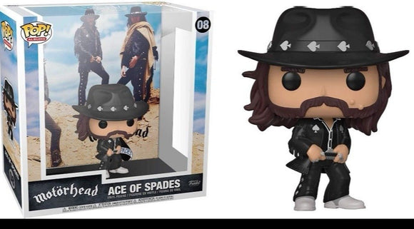 FUNKO POP! ALBUMS: MOTORHEAD - ACE OF SPADES (SHIP DATE TDB)