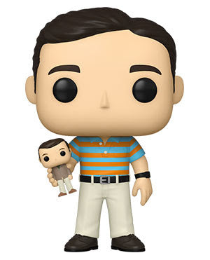 Funko Pop! 40 Year Old Virgin - Andy Holding Oscar (Ships March 2021)
