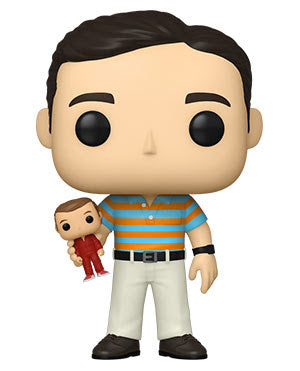Funko Pop! 40 Year Old Virgin - Chase Andy Holding Oscar (Ships March 2021)