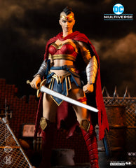 MCFARLANE DC MULTIVERSE - LAST KNIGHT ON EARTH - WONDER WOMAN (SHIPS FEBRUARY 2021)