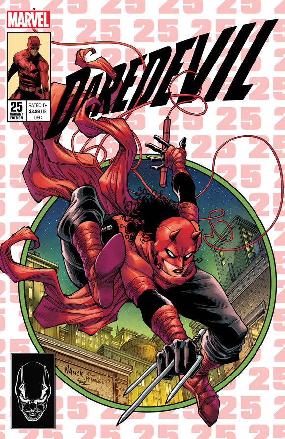 DAREDEVIL #25 TODD NAUCK SECRET EXCLUSIVE 2ND PRINT VARIANT