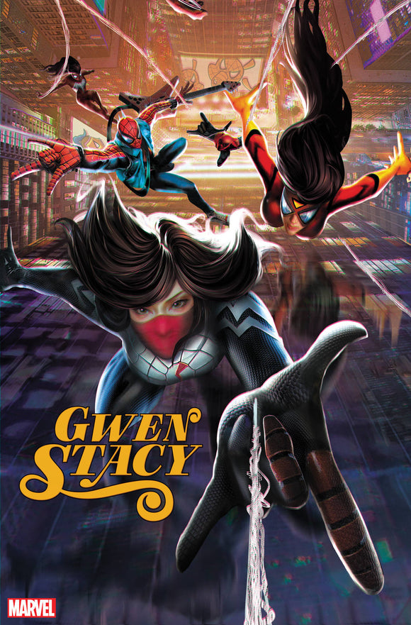 GWEN STACY #1 (OF 5) JIE YUAN CONNECTING CHINESE NEW YEAR VA