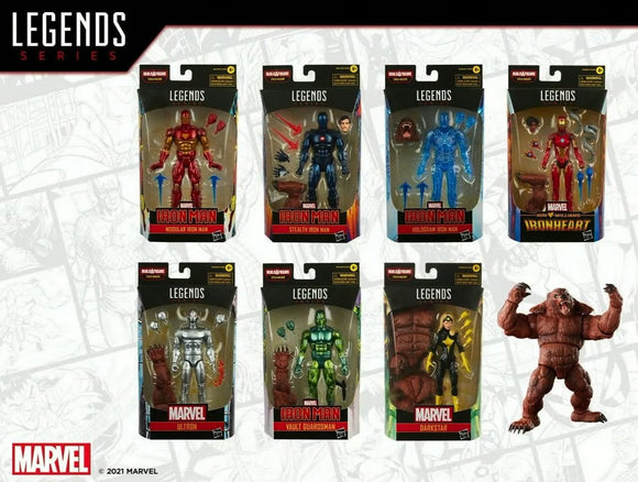 MARVEL LEGENDS - IRON MAN SERIES - FULL WAVE (Ships FALL 2021)