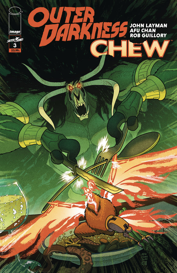 OUTER DARKNESS CHEW #3 (OF 3) CVR A CHAN (MR)
