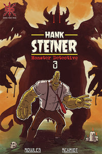 HANK STEINER MONSTER DETECTIVE #3 (MR)