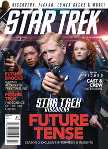 STAR TREK MAGAZINE #76 NEWSSTAND ED