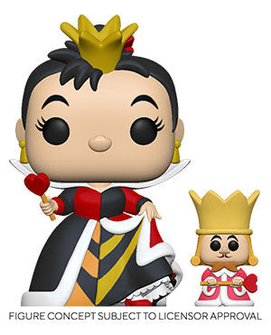 Funko Pop! Alice In Wonderland 70th Anniversary - Queen w/ King (Ships TDB)