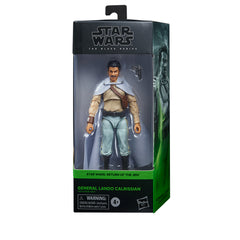 STAR WARS: BLACK SERIES - RETURN OF THE JEDI - GENERAL LANDO CALRISSIAN (EST SHIP DATE AUGUST/SEPT 2021)