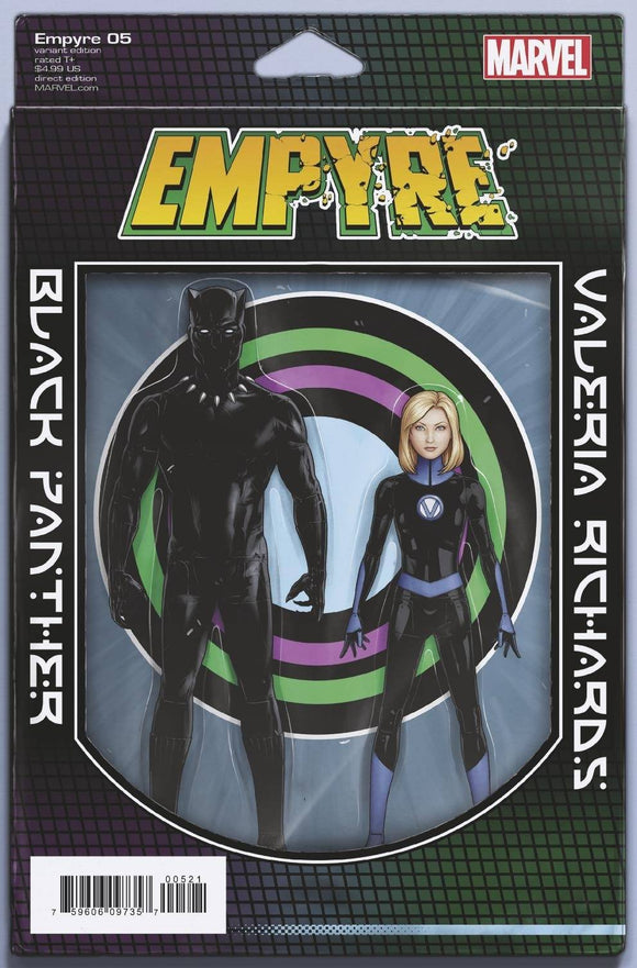 EMPYRE #5 (OF 6) CHRISTOPHER 2-PACK ACTION FIGURE VAR
