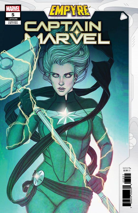 CAPTAIN MARVEL #21 FRISON EMPYRE VAR