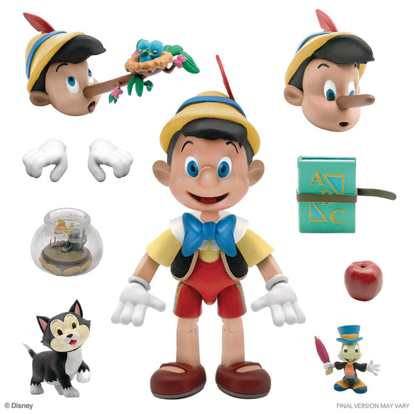 DISNEY ULTIMATES WAVE 1 - PINOCCHIO (SHIPS JULY 2021)