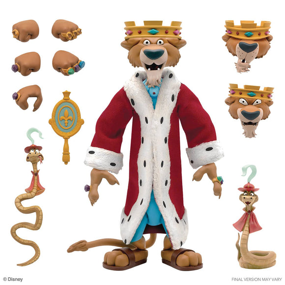 DISNEY ULTIMATES WAVE 1 - PRINCE JOHN (SHIPS JULY 2021)